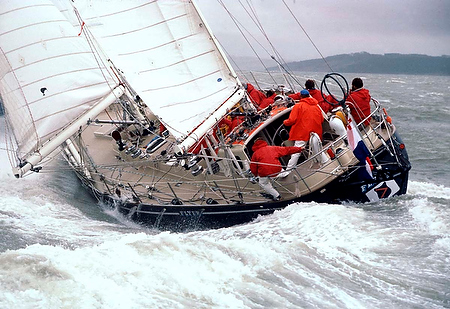 whitbread round the world race route